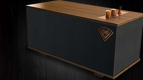 Vintage Wireless Smart Speakers - Klipsch Unveiled Smart Speakers with a Vintage Look at CES 2018