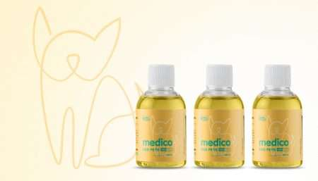 Doggie CBD Tinctures - CBD Medico Pet Tinctures Treat Anxiety & Pain in Dogs and Cats