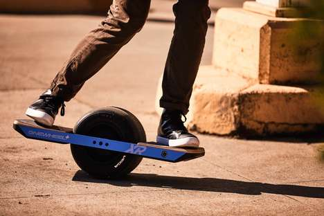 Self-Balancing Skateboards