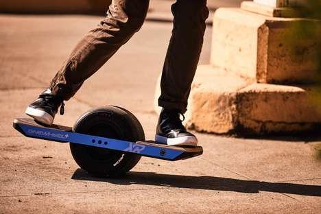 Self-Balancing Skateboards
