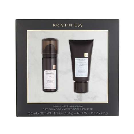 Style-Reviving Haircare Kits - This Kristin Ess Gift Set Creates a 'Next Day' Hair Look