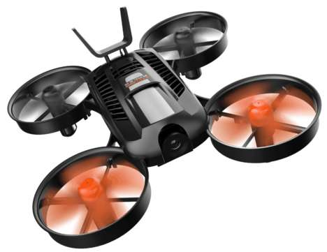 Noise-Reducing Camera Drones - Yuneec's Latest Camera Drone Makes Less Noise & Takes Better Photos