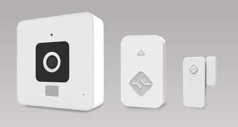 DIY Home Security Kits - SimplySmart's New Cube Home Security System Offers Stress-Free Safety