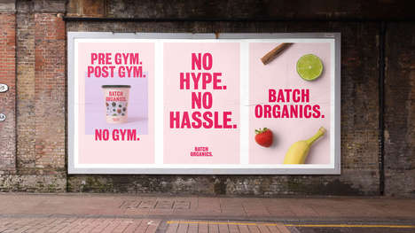 Honest Smoothie Branding - 'Batch Organics' Applies a No-Nonsense Approach to Its Healthy Branding
