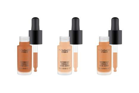 Durable Lightweight Concealers - MAC's Waterweight Concealer Offers Natural and Buildable Coverage