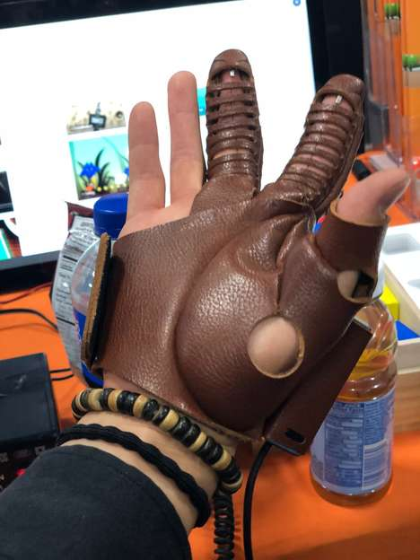 Assistive Paralysis Gloves - The NeoMano Glove is Giving the Use of Hands Back to the Paralyzed