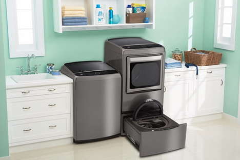 App-Connected Smart Dishwashers - The Kenmore Elite Smart Dishwasher is Monitored Via Mobile Devices