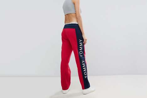 90s-Inspired Sweatpants - Tommy Jeans Created Sweatpants with a Nostalgic Design