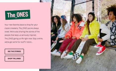 Editorial Sneaker E-Retailers