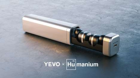 Conscientious Gunmetal Headphones - The 'Yevo x Humanium Metal' Headphones Come From Illegal Guns