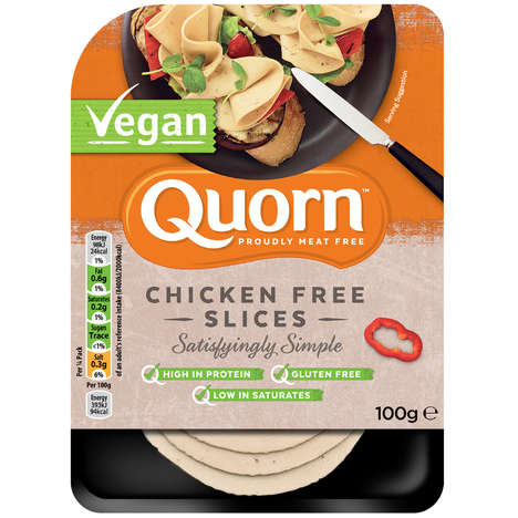 Vegan Deli Meats - Quorn Released a New Line of Vegan Deli Meat Slices