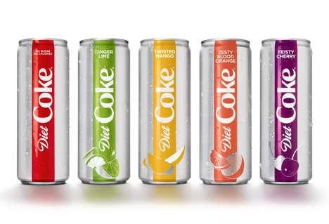 Reimagined Soda Can Designs