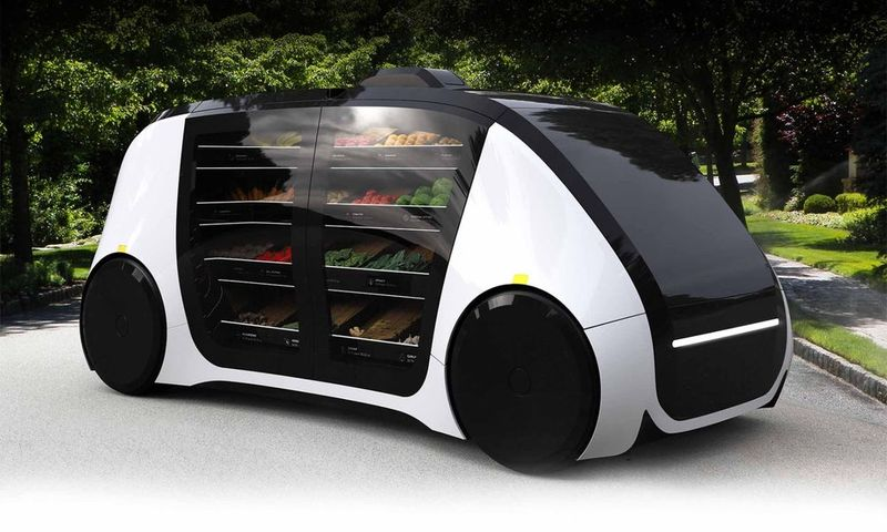 Grocery-Hauling Car Concepts