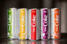 Colorful Diet Soda Rebrands