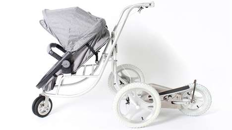 Muscle-Building Strollers - This Innovative Stroller Helps New Parents Maintain Exercise Regimes