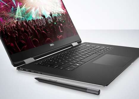 Magnetic Convertible Laptops - The Dell XPS 15's Keyboard Has Magnetically Levitating Keys