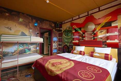 Whimsical Theme Park Accommodations