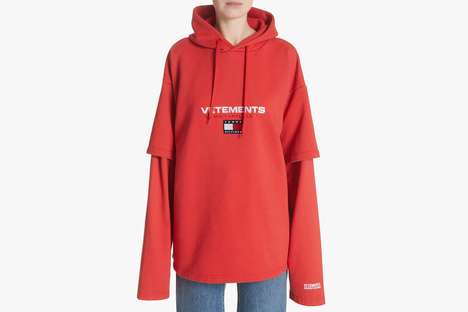 Oversized Co-Branded Sweaters