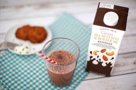 Cocoa-Flavored Cashew Milks