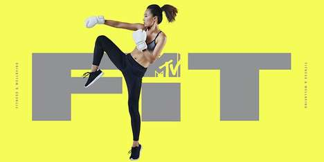 Entertainment Brand Fitness Channels - MTV Fit Offers Millennial-friendly Fitness Content