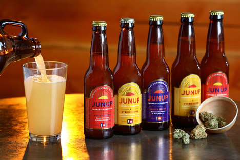 Cannabis Kombucha Brands - Junup Cannabis Kombucha is Produced and Sold in Oregon