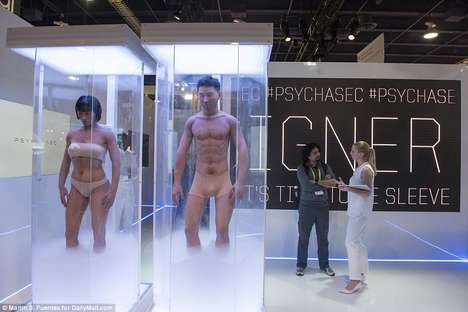 Viral Promotional Booths - Netflix Appeared at CES to Market Its New Series Altered Carbon