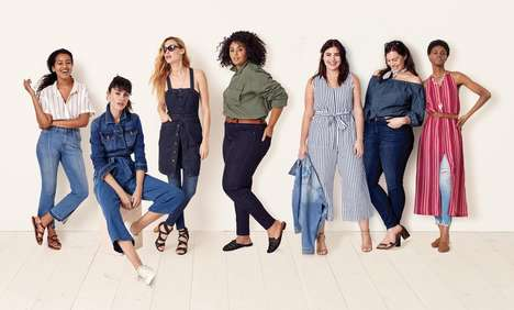 Affordable Universally Sized Apparel - Target Released a New Clothing Line for Women of All Sizes