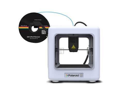 Consumer-Friendly 3D Printers - Polaroid Unveiled User-Friendly Consumer 3D Printers at CES 2018