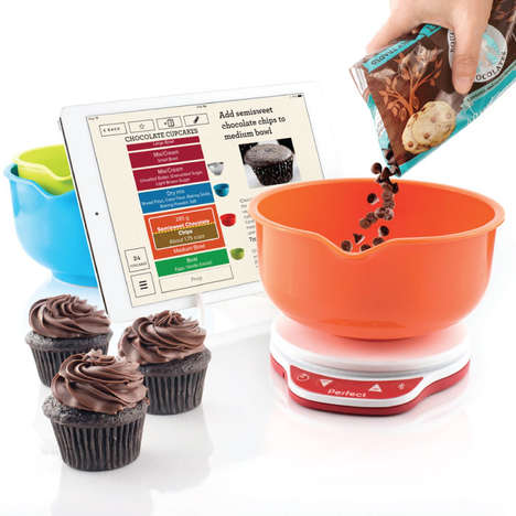 App-Connected Baking Scales - The Perfect Bake Pro is Precise and Convenient