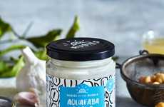Protein-Rich Vegan Mayonnaise - Rubies in the Rubble's Vegan Aquafaba Mayo is Made Without Egg