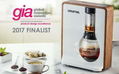Voice-Controlled Coffee Makers - The Gourmia Coffee Maker Responds to the Skill Name 'Mia'