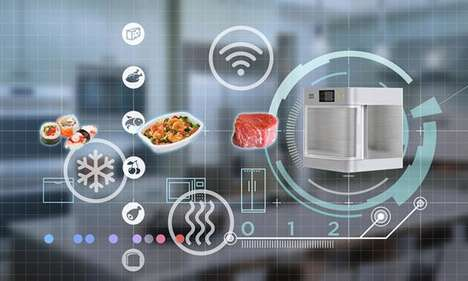 Smart Defrosting Devices - The NXP Frozen Food Defrosting Design Can Thaw Food in a Few Minutes