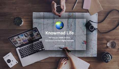 Nomad-Connecting Social Platforms - 'Knowmad Life' is a Network for Connecting Digital Nomads