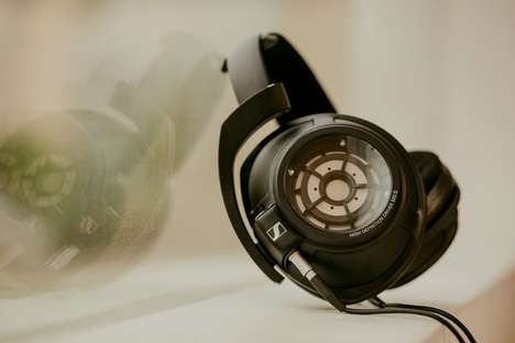 Visible Component Headphones