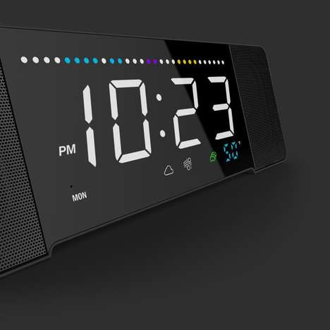 Device-Charging Alarm Clocks - The Sandman Doppler Smart Clock is the Future of Bedside Alarms