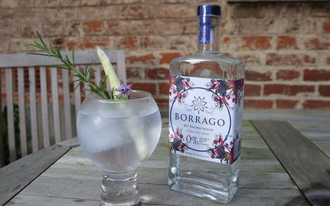 Sugar-Free Non-Alcoholic Spirits - The Borrago #47 Paloma Blend is Steam Distilled