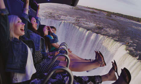 Suspended 4D Country Tours - FlyOver Canada is Offering an Immersive Tour of the Country