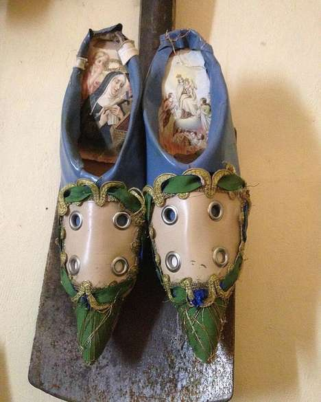 Upcycled Furniture Footwear