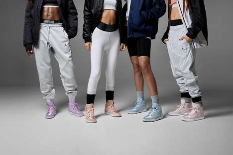 Unisex Pastel Basketball Sneakers