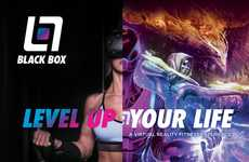 Virtual Reality Gyms - Black Box VR Give Everyday Workouts a Video Game Twist