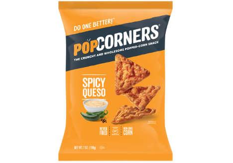 Queso Popcorn Crisps