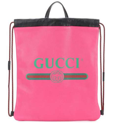 Fuchsia Designer Backpacks - Gucci Has Released a Luxury Pink Leather Backpack