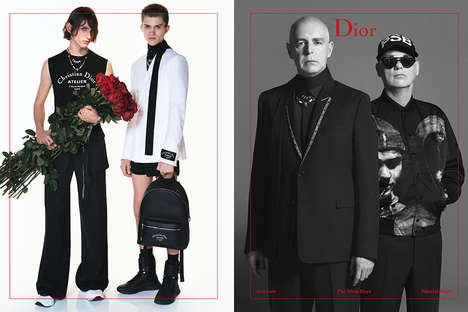 Youth-Inspired Menswear - The New Dior Homme Collection Was Photographed by David Sims