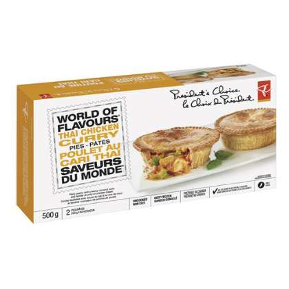 Globally Inspired Single-Serve Pies - The 'PC World of Flavours' Pies Integrate Worldly Ingredients