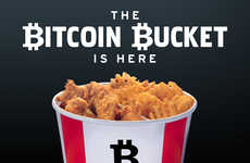 Cryptocurrency Chicken Buckets - KFC's 'Bitcoin Bucket' Can Only Be Purchased with Bitcoin