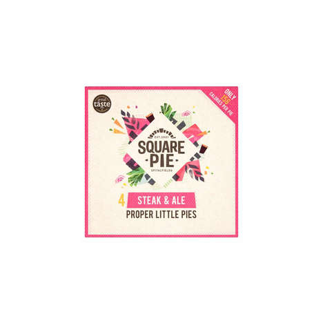 Savory Low-Calorie Pies - Square Pie's 'Proper Little Pies' Boast Less than 200 Calories Per Pie
