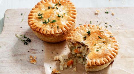 Vegetarian Pastry Pies