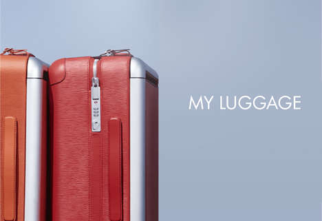 Luxury Luggage Trackers - Louis Vuitton is Manufacturing a Stylish Luggage-Tracking Device
