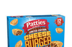 Burger-Flavored Dinner Pies - Patties' 'Cheese Burger Party Pie' is a Limited-Edition Novelty