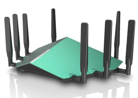 Blazing-Fast Home Routers - The D-Link AX6000 Ultra WiFi Router was Shown Off at CES 2018
